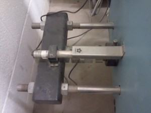 Load Cell, LVDT and Load Screw