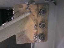 Crossmember welding repair