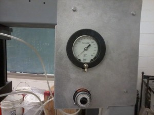 Pressure Gauge and Adjustment