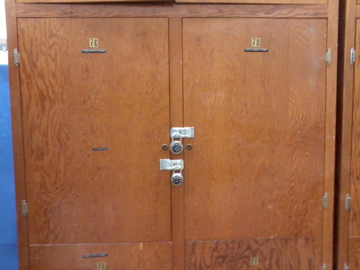 Lockable Compartments for Equipment Storage
