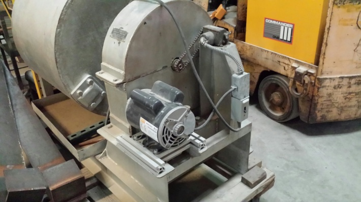 Motor Upgrade for a LA Abrasion Machine